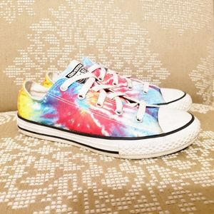 Converse | Tie-Dyed Low-Rider Sneakers 3